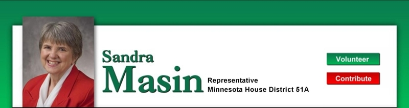 Sandra Masin: Representative Minnesota House 51A Representing parts of Burnsville and Eagan